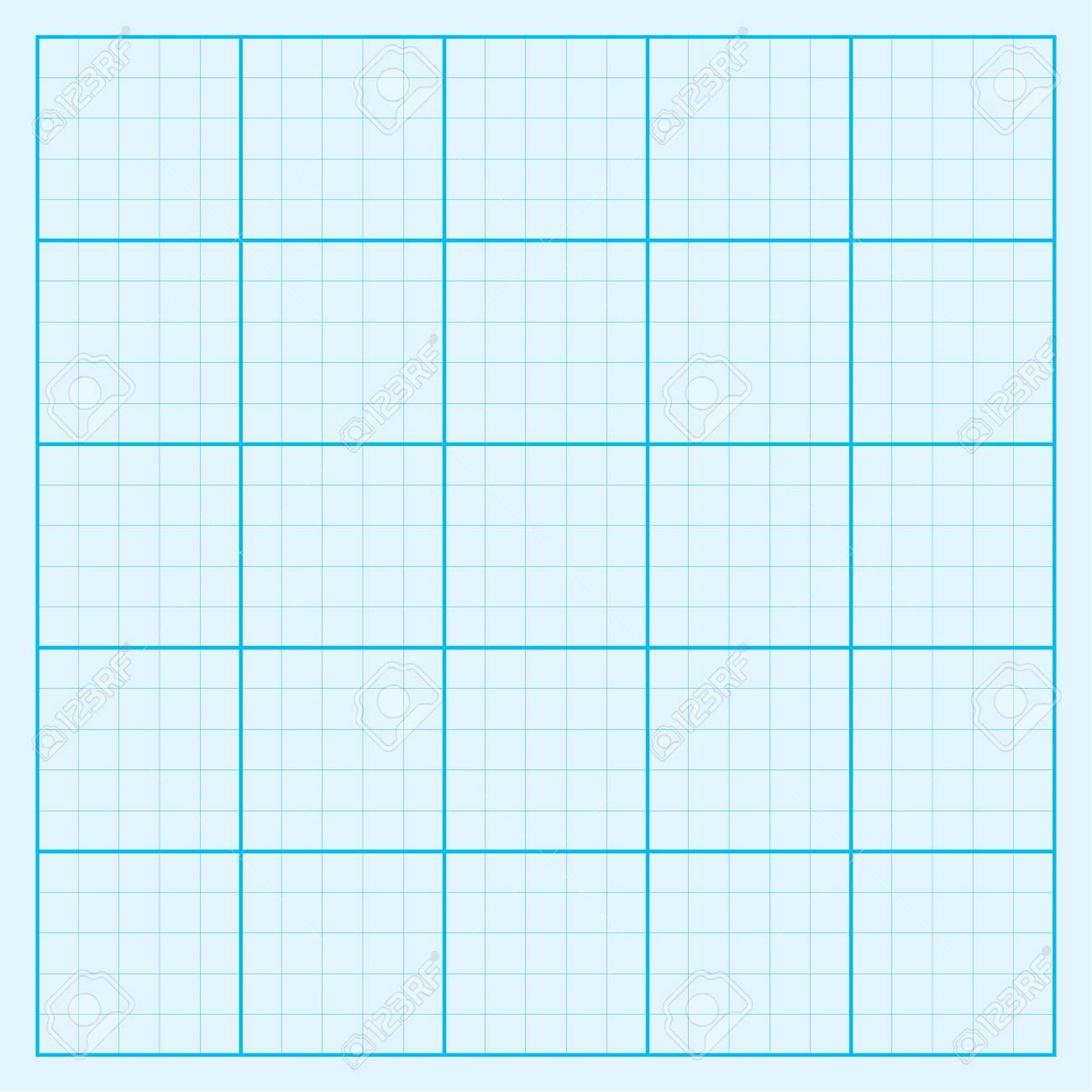 Blue graph paper coordinate paper grid paper squared paper.