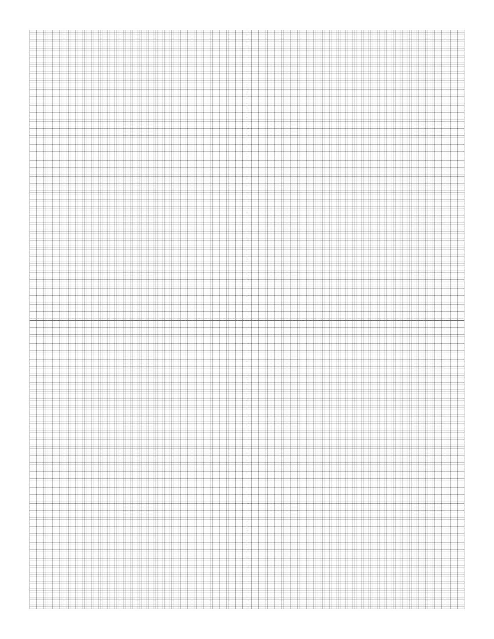 Free Online Graph Paper / Plain.