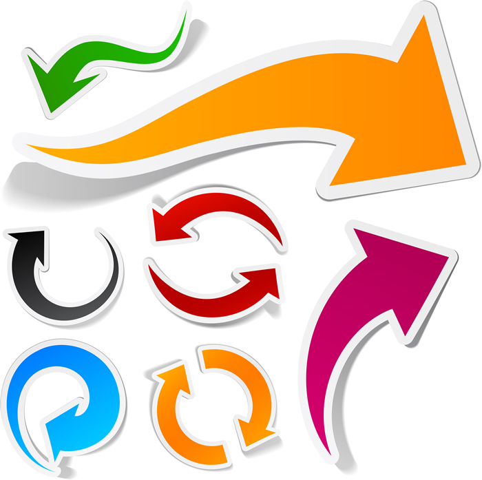 Arrows Graphic.