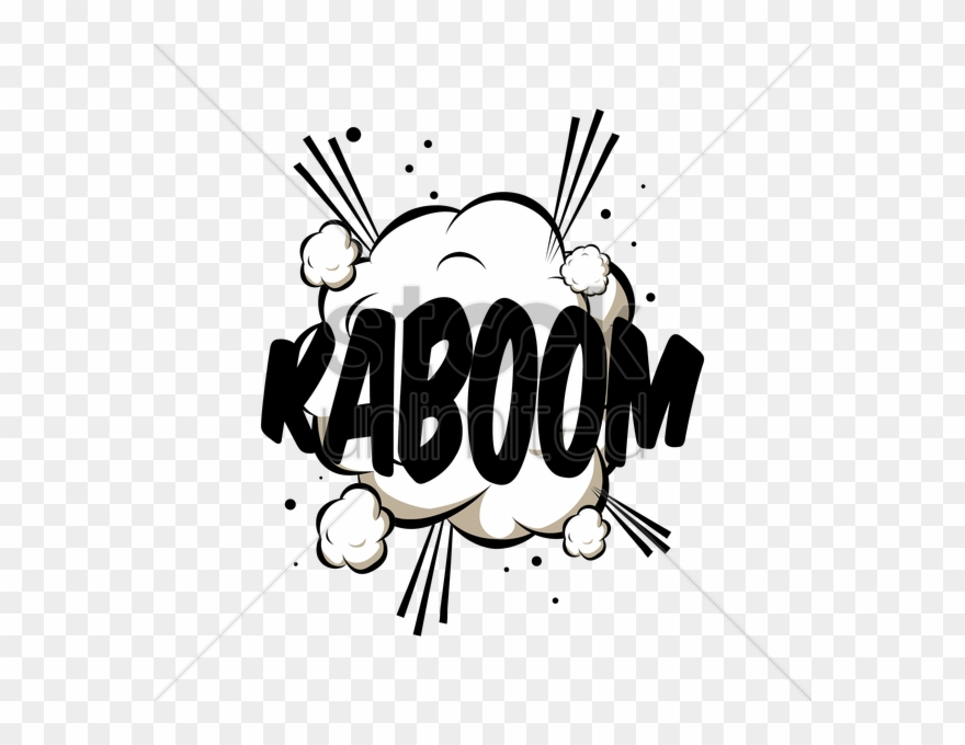 Free Download Kaboom Graphic Clipart Drawing Clip Art.