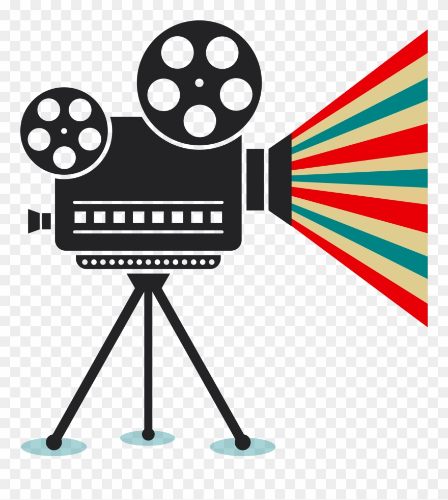 Graphic Freeuse Download Film Projector Clipart.