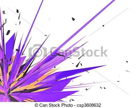 Clip Art of colorful graphic design.
