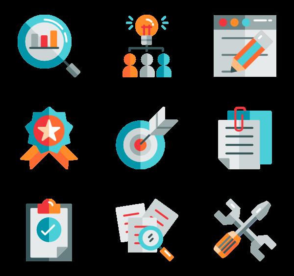 Graphic design Icons.