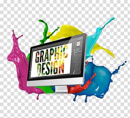 Graphic Designer Logo, typesetting design transparent.