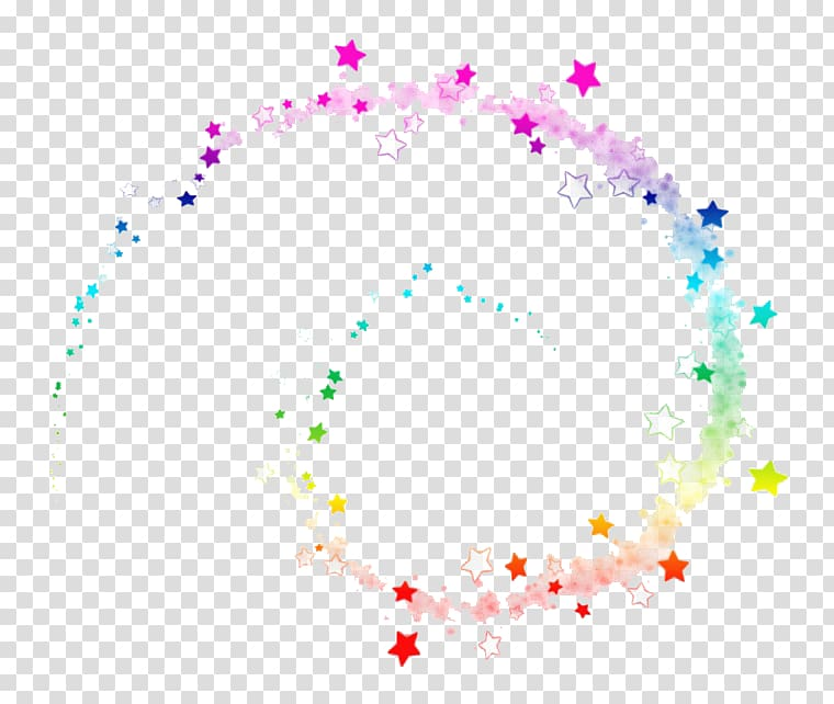Light Magic, Magic effects, multicolored spiral star graphic.