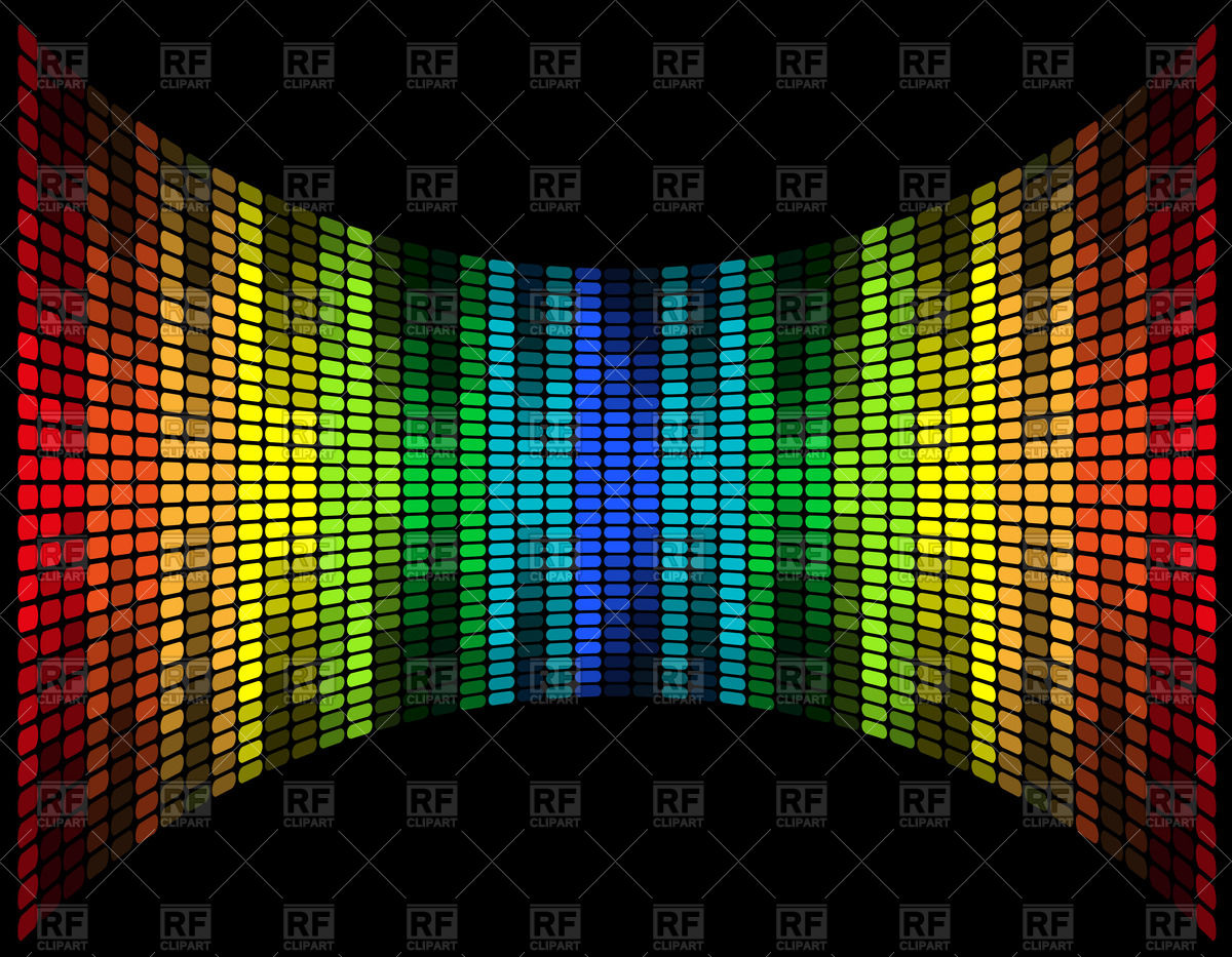 Graphic equalizer clipart #10