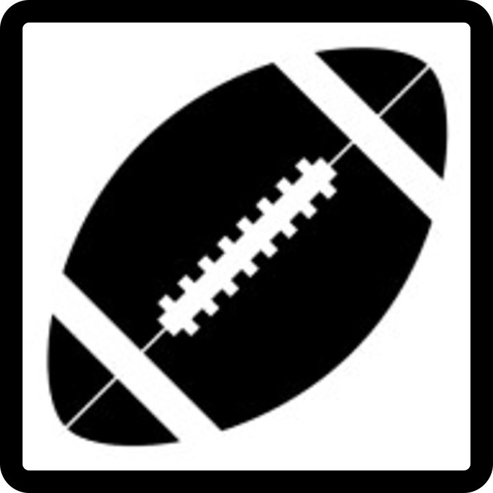Free vector graphic: Football, American, Icon, Symbol.
