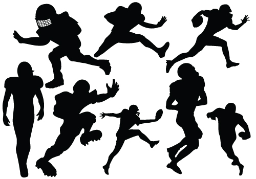 Football Player Graphics.
