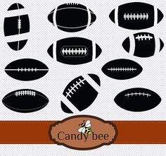 Clip art, Silhouette and Football on Pinterest.