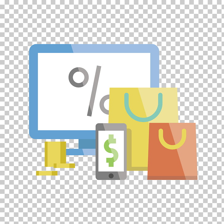 Online shopping Scalable Graphics Icon, Computer shopping.