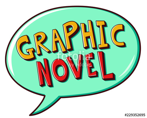 Graphic Novel Speech Bubble Illustration