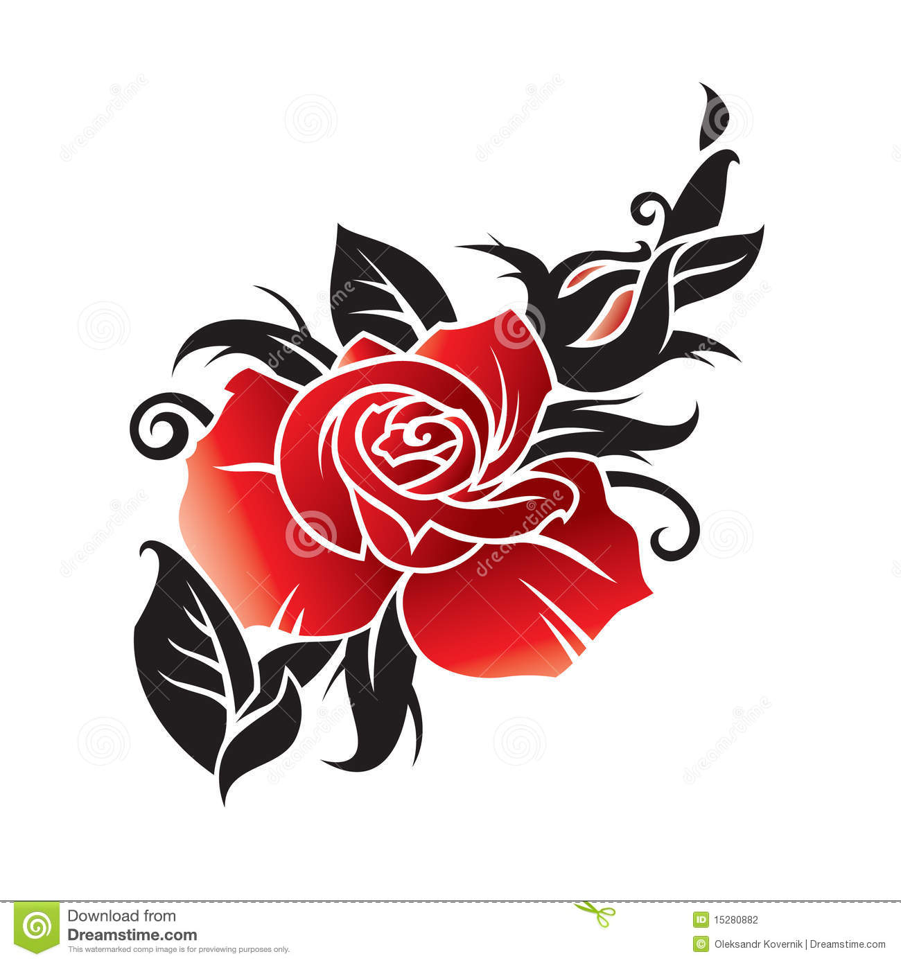 Graphic Rose Images.