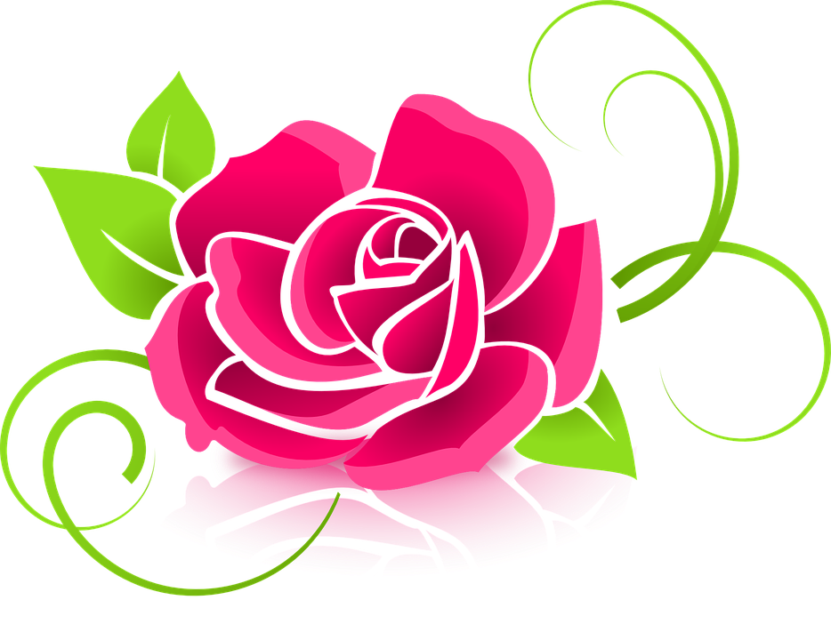 Free vector graphic: Rose, Graphic, Flower, Deco.