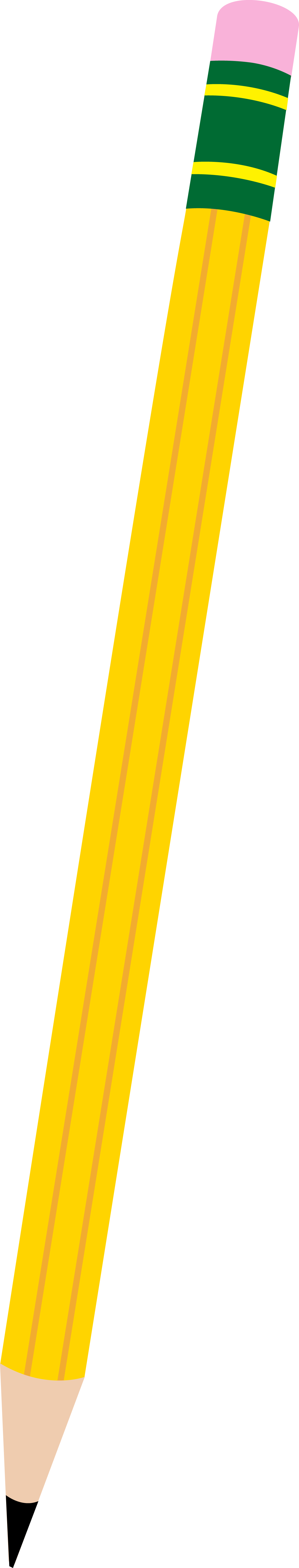 Simple Yellow Pencil.