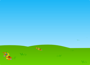 Grass And Sky Clipart.