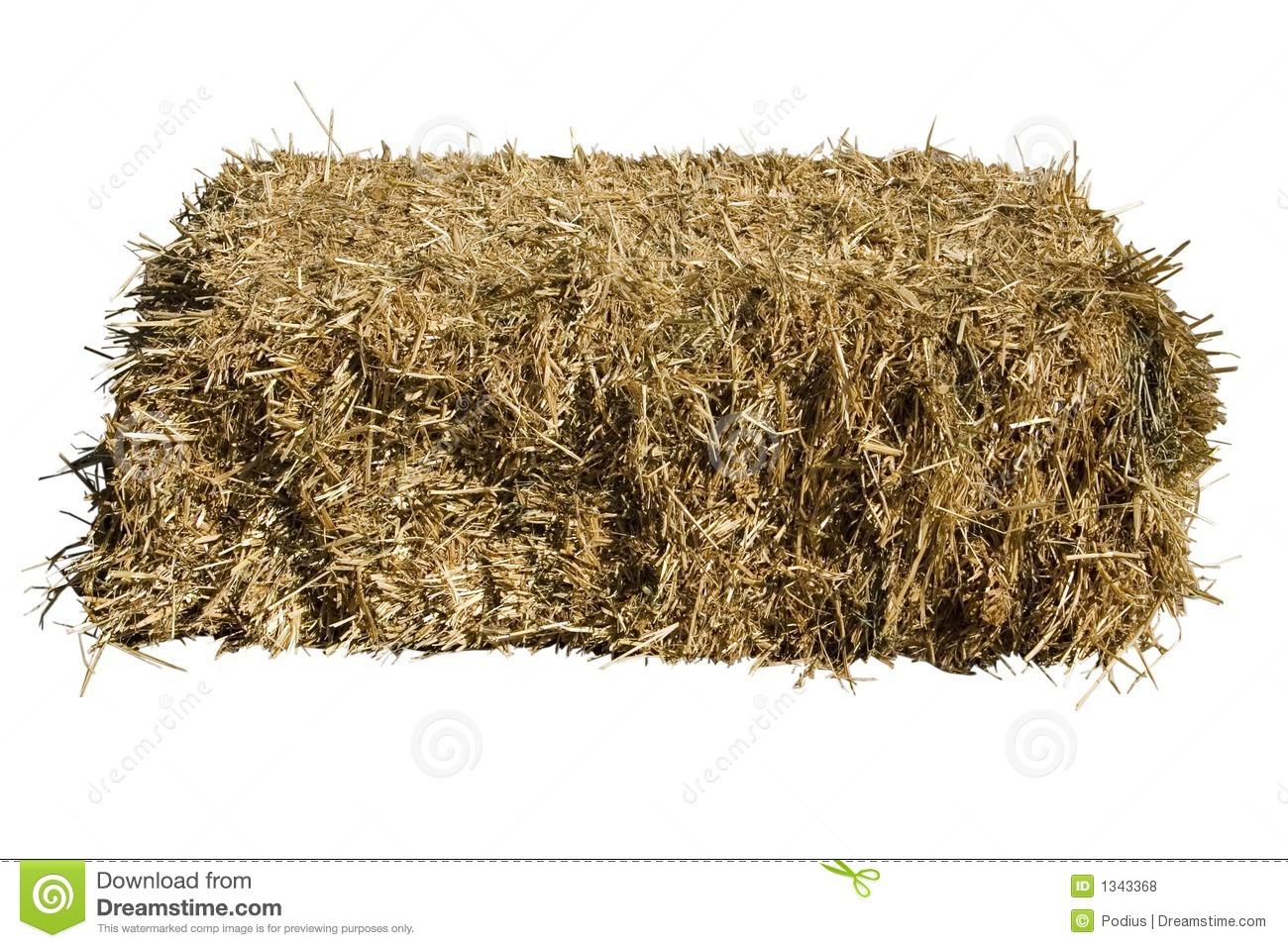 Straw Bale Royalty Free Stock Photos.