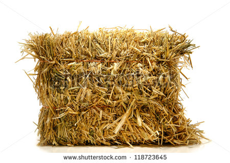 Straw Bales Stock Images, Royalty.