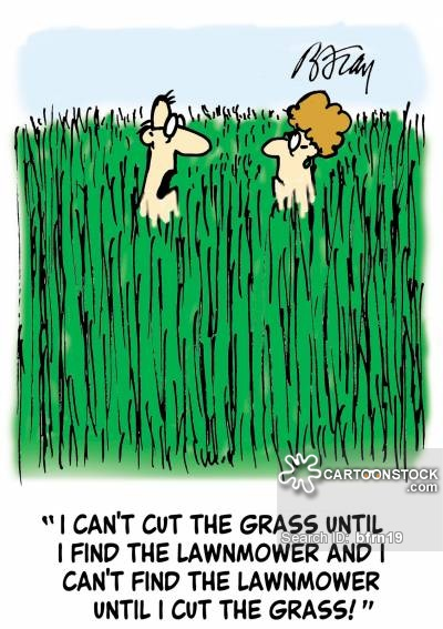 Grass Cartoon.