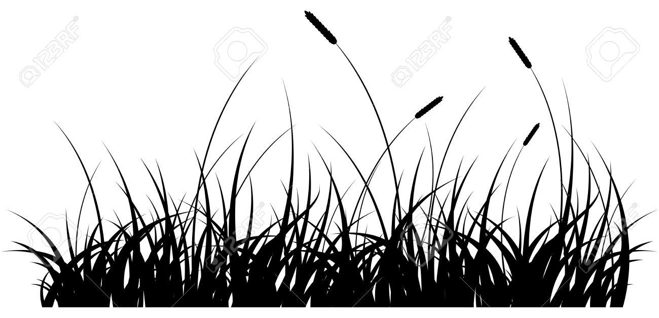 Black Grass Vector at GetDrawings.com.