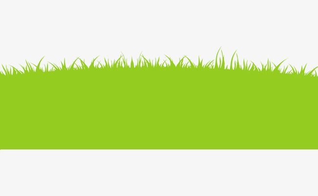Green Cartoon Grass, Cartoon Clipart, Grass Clipart, Green.
