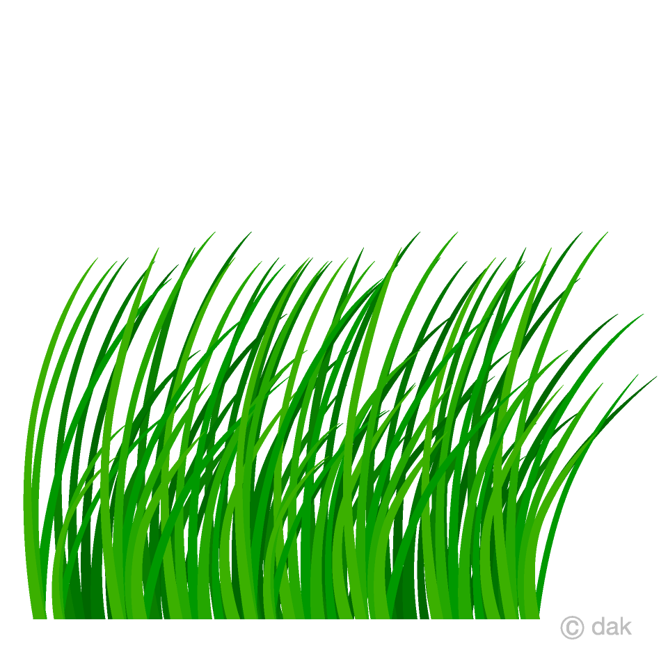 Free Overgrown Grass Clipart Image|Illustoon.