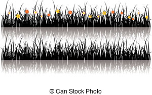 Grass silhouette Clipart and Stock Illustrations. 25,163 Grass.