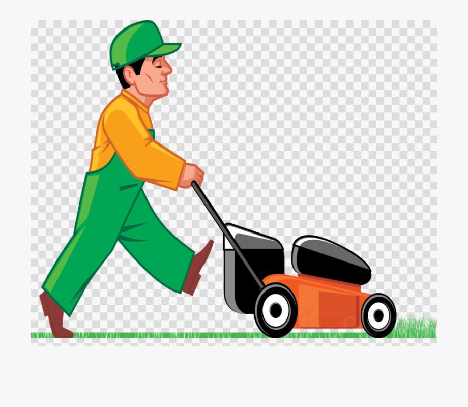 Lawn Mower Clipart Grass Cutting.