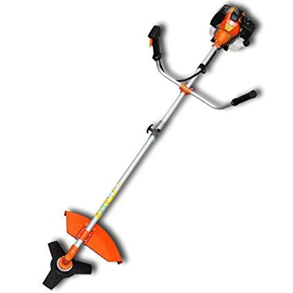 Festnight 2200 W Electric vidaXL Brush Cutter Grass Trimmer 51,7 cc Orange  2,2 kW Petrol with 4.