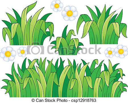 Grass Drawing Clipart.