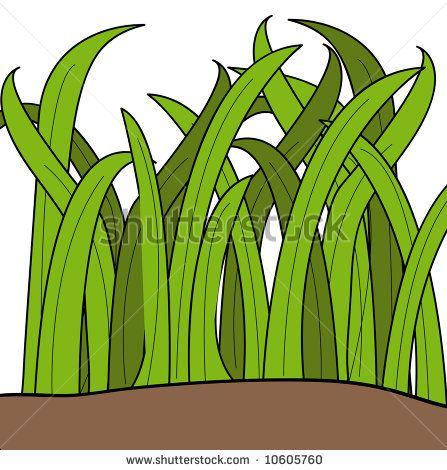 cartoon grass.