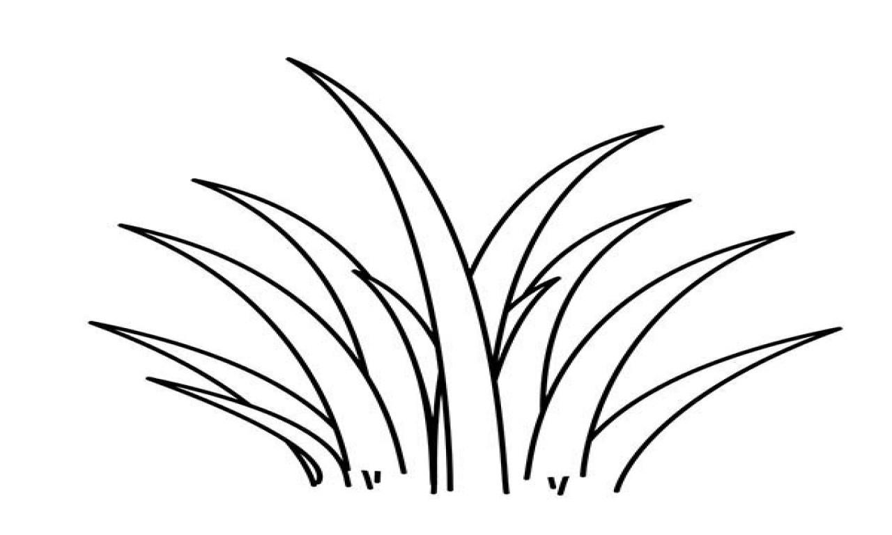 Grass Line Clipart.