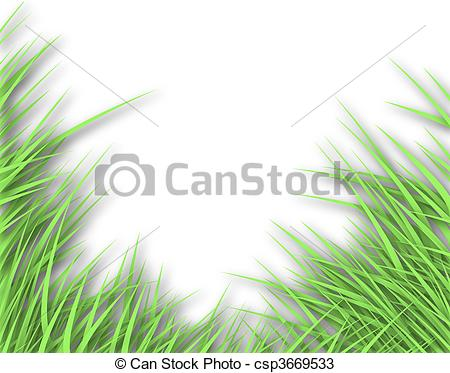 Drawings of Grass edge.