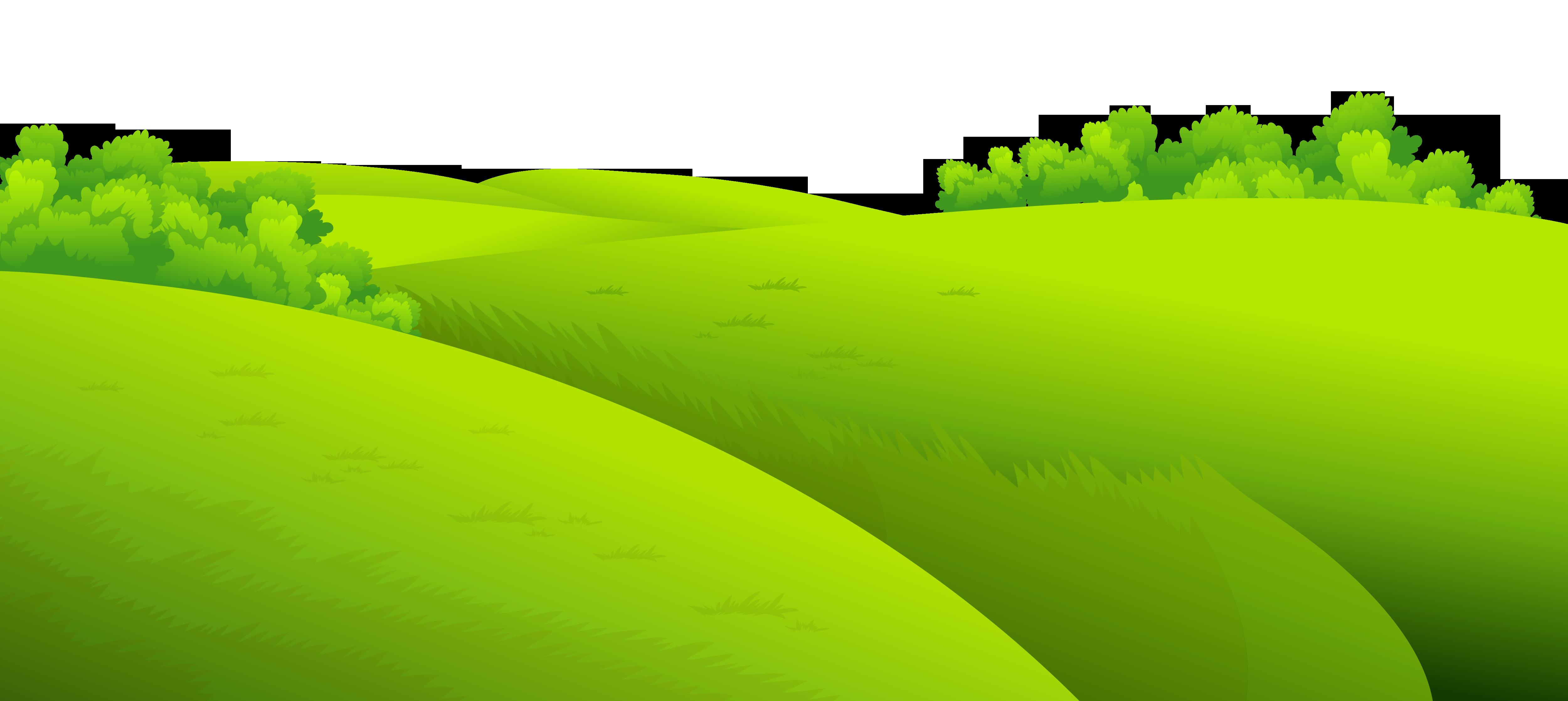 Green grass clipart.