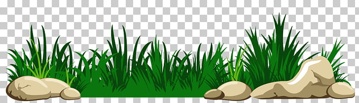 Grass with Rocks Transparent , animated green grass PNG.
