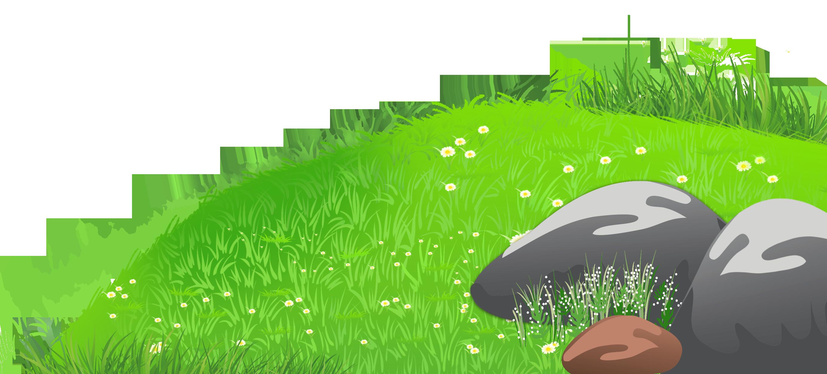 Grass Hill Clipart.
