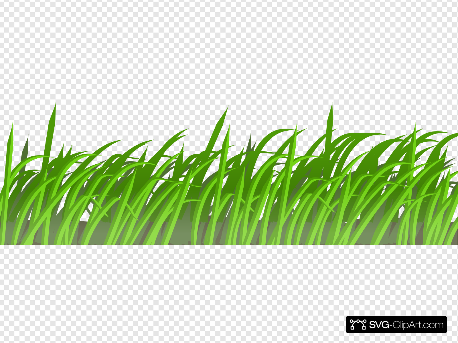 Grass Patch Clip art, Icon and SVG.