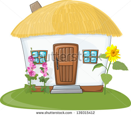 Thatched Roof Stock Vectors, Images & Vector Art.