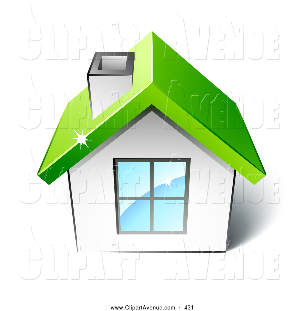 Home clipart green.