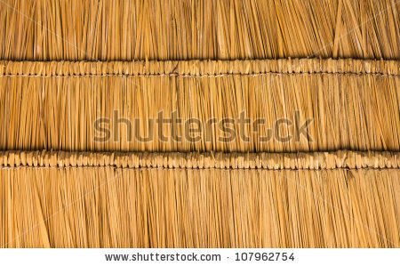 Thatched Roof Stock Images, Royalty.