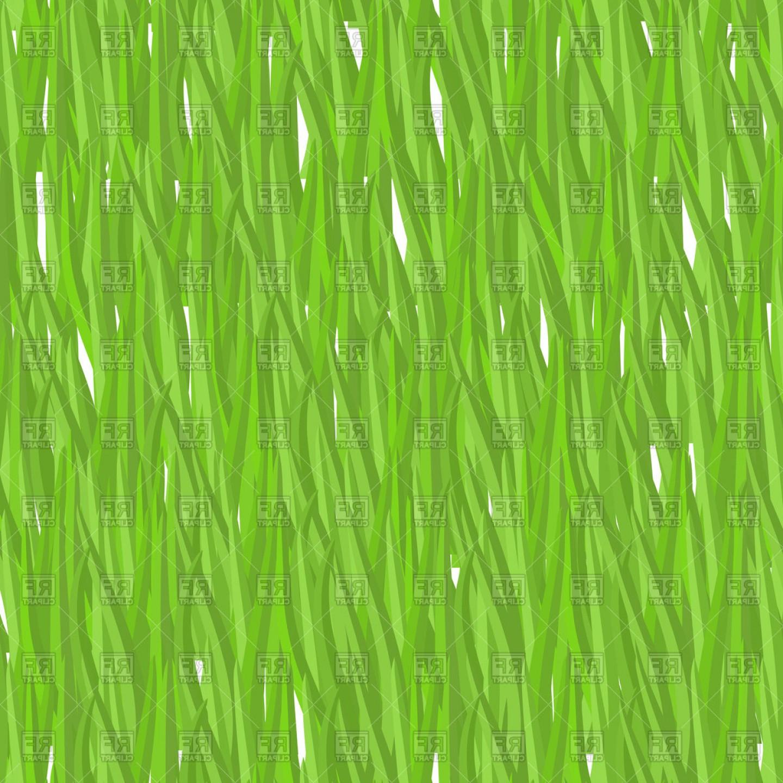 Green Grass Texture Vector Clipart.