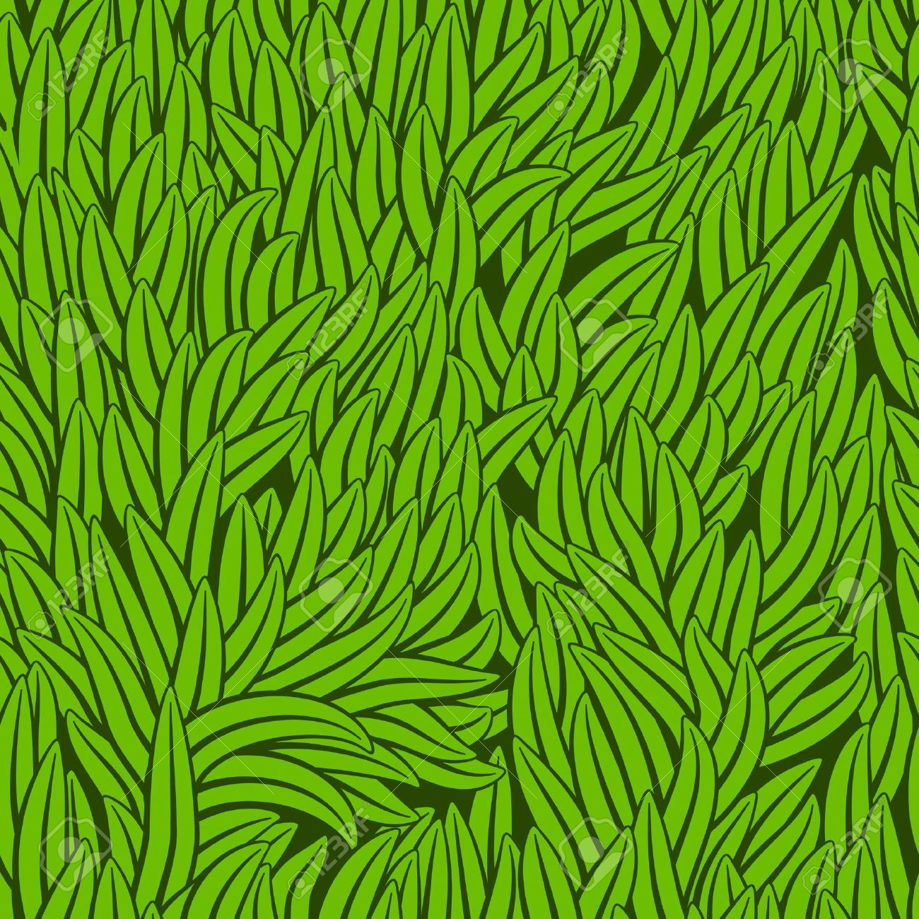grass pattern illustrator.