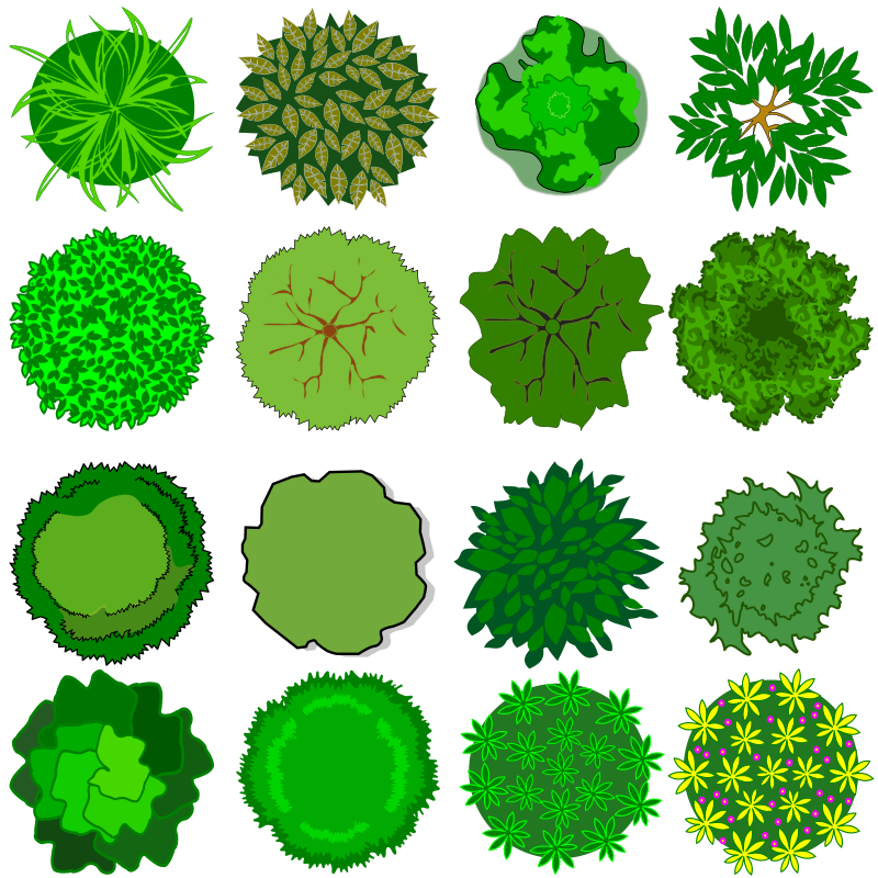 Clipart trees grass, Clipart trees grass Transparent FREE.