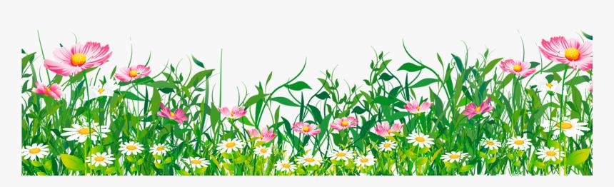 Flowers Grass Clipart.