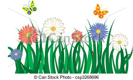 Grass flowers Clipart and Stock Illustrations. 47,394 Grass.