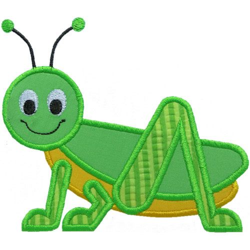 Cute grasshopper clipart.