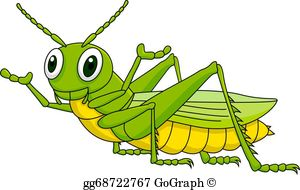 Grasshopper Clip Art.