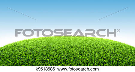 Stock Illustration of Grassland k9518586.