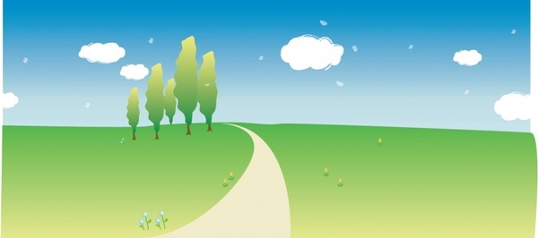 Grassland vector graphics free vector download (5 Free vector) for.