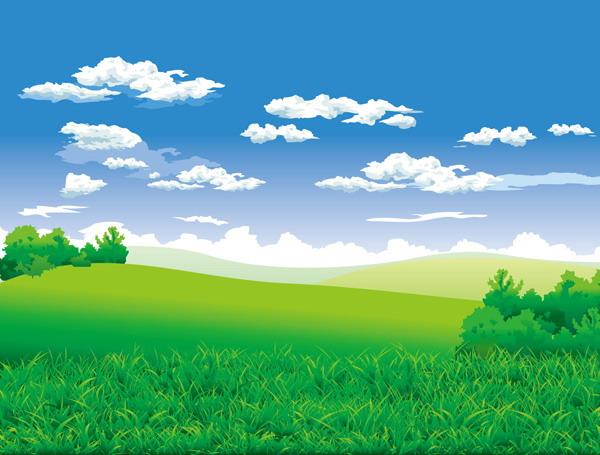 Grassland Cliparts.