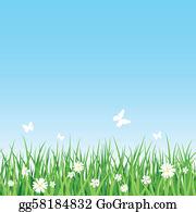 Grassy Field Clip Art.